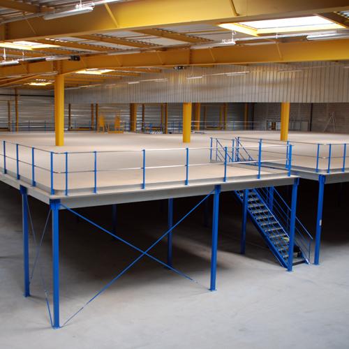 Plateforme de stockage - 500kg par m2