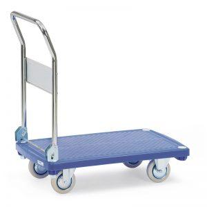 Chariots à plateaux plastique
